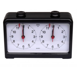 Chess Timer - Chess / Game Timer analogue - Black