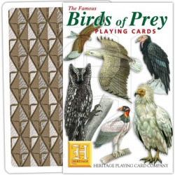 Heritage Playing Cards - Birds of Prey
