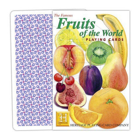 Heritage Playing Cards - Fruit of the World