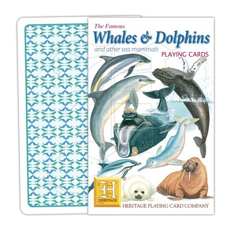 Heritage Playing Cards - Whales & Dolphins