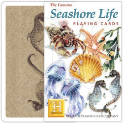 Heritage Playing Cards - Sea Shore Life