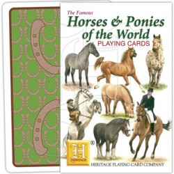 Heritage Playing Cards - Horses & Ponies of the World