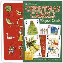 Heritage Playing Cards - Christmas Carols