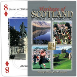 Heritage Playing Cards - Heritage of Scotland