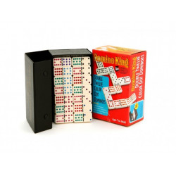 Dominoes - Domino King, double 12, colour dots, spinners