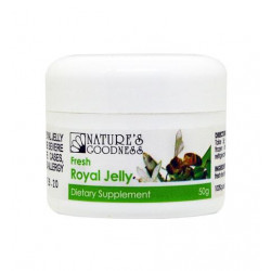 Nature's Goodness Fresh Royal Jelly 50g *NEW!* ***TRY IT!***