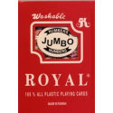 Playing Cards - Royal 100% Plastic, Large Index, DUAL PACK