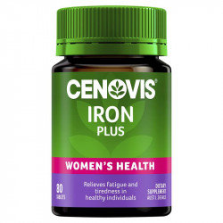 Cenovis Iron Plus 80 Tablets - Women's Health