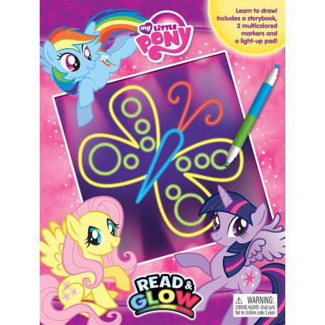 My Little Pony Read and Glow