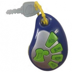 Kid's Car Alarm Key Chain with Sounds & Melodies
