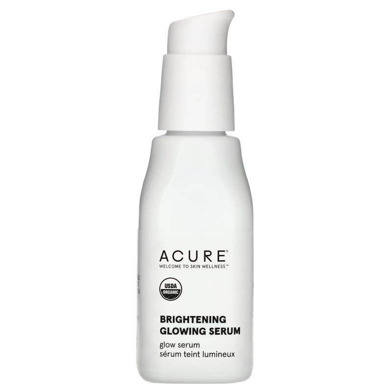 Acure Brilliantly Brightening Glowing Serum 1 Fl Oz (30 Ml