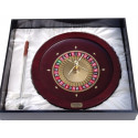 "Dal Rossi Italy Roulette - Dal Rossi Roulette & Wooden Rake 20"" with Metal Ball & FREE PROFESSIONAL ROULETTE MAT -72 """