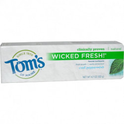 Tom's of Maine Wicked Fresh! Fluoride Toothpaste Cool Peppermint 4.7 oz (133 g)