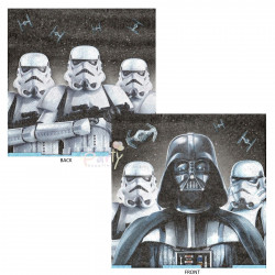 Star Wars Darth Birthday Party Pack Large 2 Ply Napkins 16 Pack