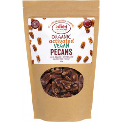 Activated Organic Vegan Pecans 300g ( Carton - 6 Packets ) NEW! TRY IT!