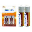 Phillips Battery Long Life 4 Pack AA