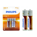 Phillips Battery Long Life 4 Pack AAA