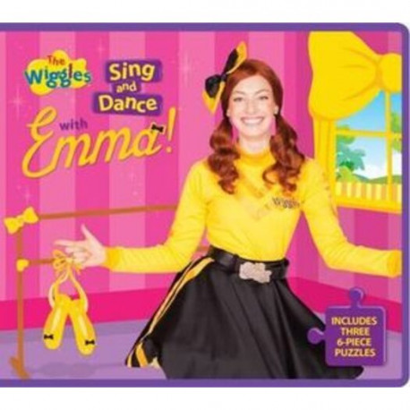 The Wiggles Foam Jigsaw Book Sing Dance with Emma