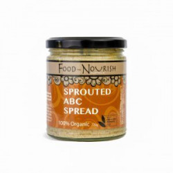 Food to Nourish Spread Sprouted ABC 100 % Organic 450 g