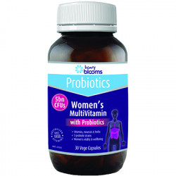 Henry Blooms Womens Multivitamin with Probiotics 30 vege capsules