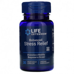 Life Extension Enhanced Stress Relief 30 Vegetarian Capsules