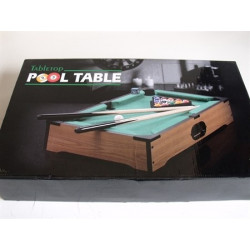TableTop Pool Table Large Measures 51x31x10cm