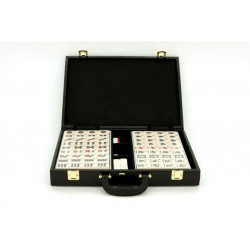 Mahjong - Mahjong Hong Kong, Large Tiles, attache case Counting Sticks are Not included