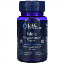 Life Extension Male Vascular Sexual Support 30 Vegetarian Capsules