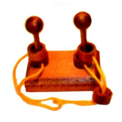Age Olde - Twin Poles Ring Puzzle