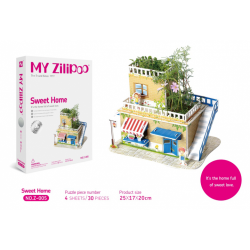 """3D Puzzle - """"SWEET HOME"""""""