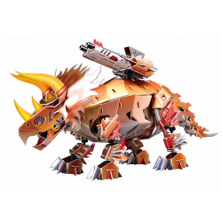 "3D Puzzle - ""THE ROBOT TRICERATOPS"""