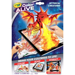 Crayola Color Alive – Mythical Creatures