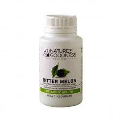Nature's Goodness Bitter Melon Capsules 500mg 100c