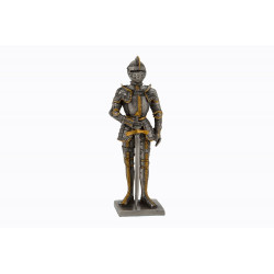 Dal Rossi Pewter MEDIEVAL WARRIOR - FULL BODY ARMOR - LEFT