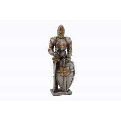 Dal Rossi Pewter MEDIEVAL WARRIOR - SWORD IN RIGHT HAND