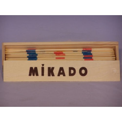 Mikado Game - Wooden Box & Sticks