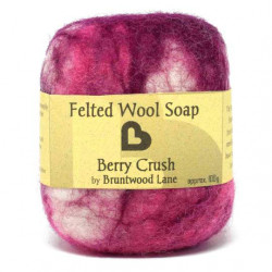 The Bruntwood Lane Felted Wool Soap 100g (12 soaps - carton)
