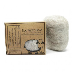 The Bruntwood Lane ECO Felted Wool Soap 70g (14 soaps - carton)