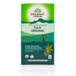Organic India Tulsi Tea Original x 25 Tea Bags (6 Pack Carton)