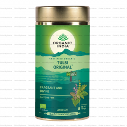 Organic India Tulsi Tea Original Loose Leaf 100g Carton ( 6 Tins )