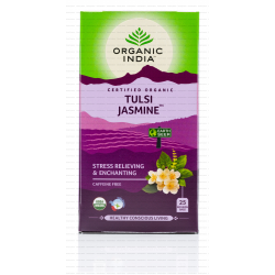 Organic India Tulsi Tea Jasmine x 25 Tea Bags Carton (6 Boxes)