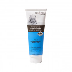Wotnot All Natural Baby Wash (3-in-1) 250ml