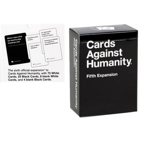Party Game - Cards Against Humanity - 5th Expansion (Pack of 112)