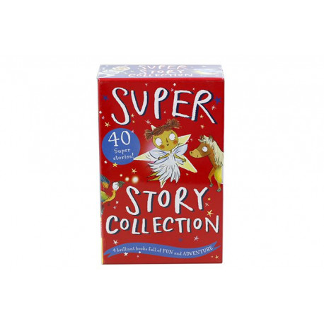 Super Story Collection 40 Super Stories In 4 Books