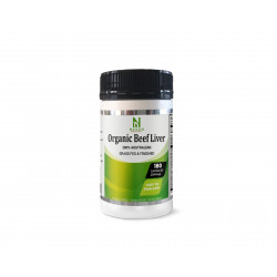 NXGEN Organic Grass Fed & Finished Beef Liver Capsules 180 Capsules