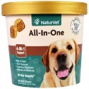 NaturVet All-In-One 4-In-1 Support 60 Soft Chews 240 g