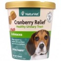 NaturVet Cranberry Relief For Dogs Plus Echinacea 60 Soft Chews 180 g