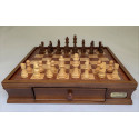 """Dal Rossi Chess Set 16"""", With Wooden Chess Pieces"""