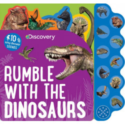 Discovery Rumble with The Dinosaurs - Press Sound Book
