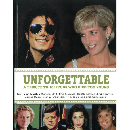 Unforgettable - A Tribute to 101 Icons Who Died Too Young